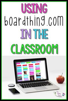 Virtual Collaboration Board, BoardThing, is a great technology tool for the elementary classroom!