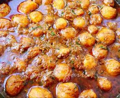 DUM ALOO (Bengali Style) Aloo Recipes, Veg Recipes, Spicy Recipes, Curry Recipes, Indian Food Recipes, Appetizer Recipes, Vegetarian Recipes, Cooking Recipes, Indian Foods