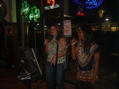 News 4's Kristen Cornett & Erica Byfield singing Karaoke