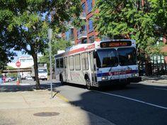SEPTA New Flyer bus on Rt.57