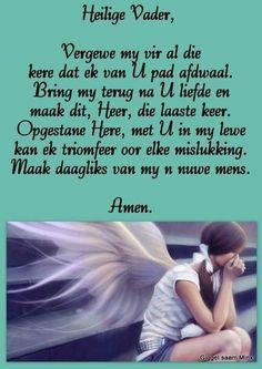 I Love You God, I Need You, Afrikaanse Quotes, Meet U, Goeie More, Faith Prayer, Prayer Quotes, Bible Verses, Religion
