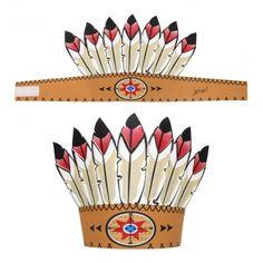 Indianen tooi voor indianenfeestjes