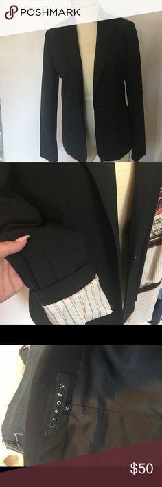·THEORY BLAZER· Barley worn. Classic black theory blazer Theory Jackets & Coats Blazers