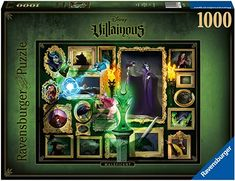 Amazon.com: Ravensburger Disney Villainous Maleficent 1000 Piece Jigsaw Puzzle for Adults – Every Piece is Unique, Softclick Technology Means Pieces Fit Together Perfectly: Toys & Games