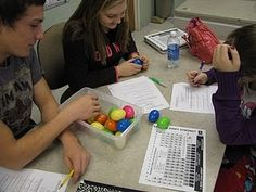 Isotope activity involving mass number and atomic number using Easter eggs. Chemistry Classroom, High School Chemistry, Chemistry Lessons, Teaching Chemistry, Science Chemistry, Middle School Science, Physical Science, Science Lessons, Science Resources