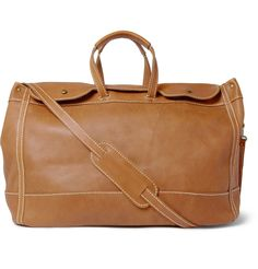 Jean ShopSignature Leather Weekend Holdall|MR PORTER