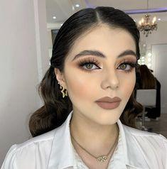 Makeup Inspo, Makeup Art, Beauty Makeup, Hair Beauty, Hair Upstyles, Alternative Makeup, Neutral Makeup, Glamorous Makeup, Prom Makeup