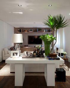 Decoração Apartamento em Moema - SP/ Por Dado Castello Branco