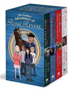 The Further Adventures of Rush Revere: Rush Revere and the Brave Pilgrims / Rush Revere and the First Patriots / Rush Revere and the American Revolution / Rush Revere and the Star-Spangled Banner Price:$45.43