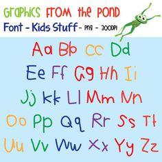 Classroom Freebies: Free FONT!