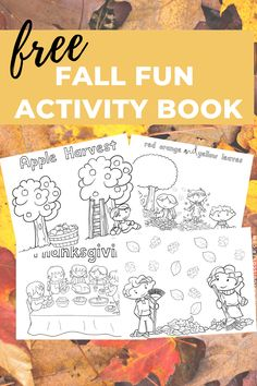 Learn about Fall and have fun with your preschoolers with this FREE Fall Fun Activity Book from Reading to Discover. Explore different Fall traditions with your littles while you make some memories together. Repin and click through for this free download. #readingtodiscover #fall #autumn #fallfun #preschoolathome #inthistogether #preschoolactivities #homeschoolpreschool #homeschool #freebie #freeprintable Fall Preschool Activities, Preschool At Home, Alphabet Activities, Book Activities, Preschool Crafts, Learning The Alphabet, Fall Crafts For Kids, Toddler Learning, Learn To Read