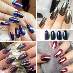 Schönheit & Gesundheit Rosalind Shell Spiegel Power Nagel Glitter Chrome Für Nail Art Design Gel Lacke Dekorationen Lack Chrom Nagel Pulver