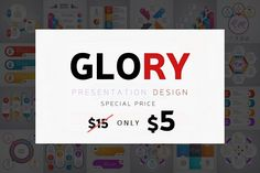 GLORY - Powerpoint Templates by SlideFusion on @creativemarket