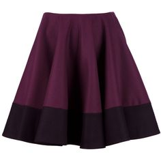 ALEXANDER MCQUEEN A line skirt (3.275 RON) ❤ liked on Polyvore featuring skirts, bottoms, faldas, alexander mcqueen, a line skirt, high rise skirts, high waisted a line skirt and purple skirt