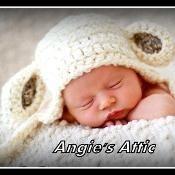 Crochet Lamb Ear-flap Hat - via @Craftsy