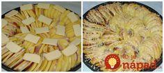 Výborné zemiaky so slaninkou, cibuľkou a cesnakom. Jemne pikantné a vynikajúce! Gnocchi, Apple Pie, Mashed Potatoes, Food And Drink, Cheese, Ethnic Recipes, Desserts, Recipes, Whipped Potatoes
