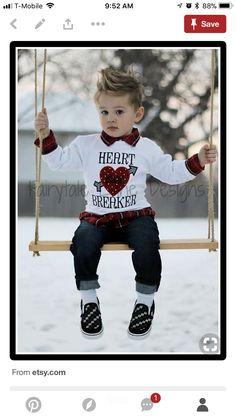 3b7edc4f Valentines For Boys, Baby Boy Valentine Outfit, Valentines Outfits, Baby Boy  Outfits,