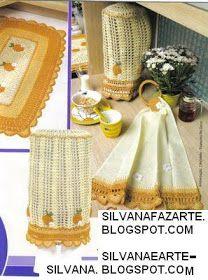 As Receitas de Crochê: JOGO DE COZINHA AMARELO EM CROCHE Crochet Kitchen, Kitchen Decor, Nara, Food, Diy Crafts, Yellow, Kitchen Playsets, Game Recipes, Diy And Crafts