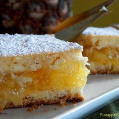 Pineapple Pie Squares