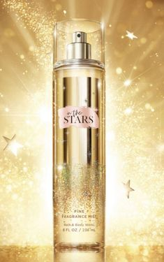 In The Stars is a warm, Sparkling blend of Starflower, Sandalwood musk, Sugared tangelo, White agarwood & Radiant Amber Size: 8 FL/ 236 ML Product Full Sprayed couple times. Bath N Body Works, Bath And Body Works Perfume, Fragrance Mist, New Fragrances, Body Mist, Body Spray, Smell Good, Beauty Skin, Body Care