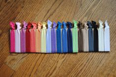 Super Soft Knot Hair Ties New Trend Doubled as a by MadiMosBows, $10.00