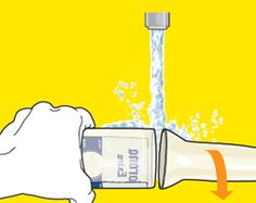 How To Turn Any Bottle Into A Glass ~~ I have always wanted to do this..from Men's Health Magazine