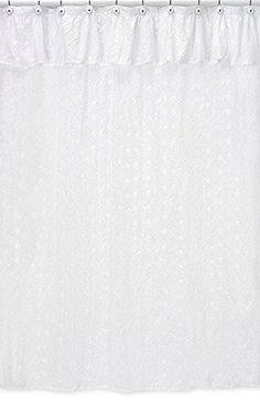 Sweet Jojo Designs White Eyelet Kids Bathroom Fabric Bath... https://www.amazon.com/dp/B003YVKTTY/ref=cm_sw_r_pi_dp_9zMDxb8XBZEAN