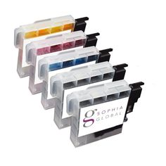 Sophia Global Compatible Ink Cartridge Replacement for Brother LC61