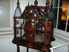 I think any bird would be happier in here :)     Antique Bird Cage by Vintage Wishes, via Flickr