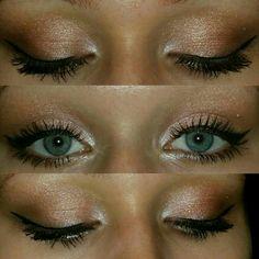 #Makeup #gold #rosegold #brown #grenneys