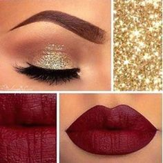 Get this Christmas look Hey everyone one get this look with Younique cream shadow.   .   Tenacious              And Younique lipsticks stinkin rich .            From Younique go get the spacial 3 set of cream shadow with the liquid eyeliner free and get lips stick and if you spend more the 100 free shipping here my web www.youniquewithingrid.com thank you for the support you must go to my web to get it not for sell here Red lipstick  Makeup Eye Primer