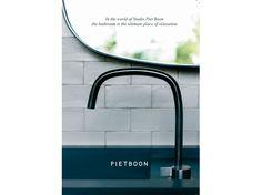 Piet Boon taps & basins by COCOON |  vtwonen & design fair RAI, Amsterdam | 3-8 October 2017 | modern bathroom design | Dutch Designer Brand COCOON