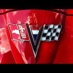 1963 Corvette nose emblem