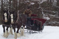 An hour from downtown Pittsburgh, Dragon Run Forge & Livery promises the perfect winter experience.