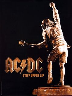 AC/DC 2000 Stiff Upper Lip Angus Statue Original Promo Poster #Poster  Link to Rock On Collectibles: http://stores.ebay.com/Rock-On-Collectibles/Metal-Posters-/_i.html?_fsub=19452565&_sid=70220124&_trksid=p4634.c0.m322