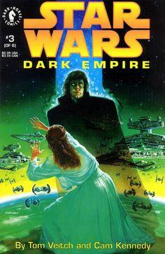Star Wars: Dark Empire (Dark Horse Comics, 1991) #3