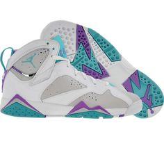 sneakers for cheap b2a13 a12c0 Air Jordan 7 VII Retro fresco gris mineral azul brillante violeta ... Air  Jordan