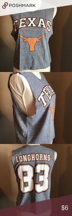 Forever 21 Texas Longhorns Muscle Tee Texas Longhorns muscle tee by Forever 21. US size M. New without tags. Forever 21 Tops Muscle Tees