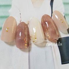 Pin by Phuong on Nails in 2019 Office Nails, Japan Nail, Asian Nails, Japanese Nails, Gel Nail Designs, Short Nails, Nail Inspo, Nails Inspiration, Fun Nails