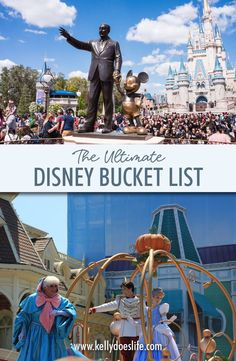 The Ultimate Disney Bucket List! Complete with things to do, ideas, challenges and more. Spanning from Disney World to Disneyland and beyond. Disney Planner, Disney Vacation Planning, Disney World Planning, Disney World Vacation, Disney Cruise Line, Disney Vacations, Disney Travel, Usa Travel, Disney World Secrets