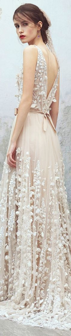 Luisa Beccaria Resort 2018 - in our opinion this is a perfect wedding reception dress!