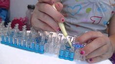 awesome Intro to rainbow loom fishtail part one
