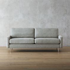 CB2 - September Catalog 2016 - Central Slate Sofa