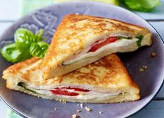 Vougelisha : tosty z mozzarellą moje śniadanie