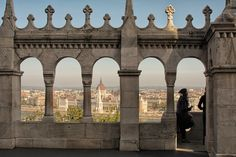 The view from Castle Hill, Budapest