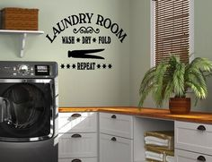 Laundry Room Vinyl Wall Quotes Pleasing Laundry Room Washing Symbols And Instructions Vinyl Wall Decal Design Decoration