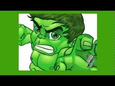 The Hulk Speed Vector Drawing by Lord Mesa - YouTube