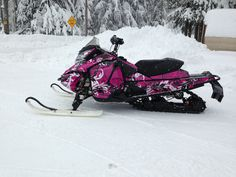 2013 Skidoo MXZ X XS 600 etec all custom... maybe this is the one he should get me...