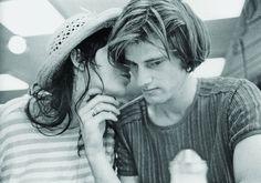 Patti Smith and Sam Shepard.