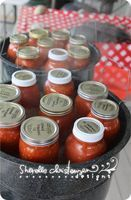 Used the tomatoe sauce and the stewed tomatoes. Recipes for Canning Tomatoes: Stewed Tomatoes, Pizza Sauce, Spaghetti Sauce, Salsa - My Crazy Life as a Farmers Wife Canning Tips, Home Canning, Canning Recipes, Chutney, Canning Food Preservation, Preserving Food, Do It Yourself Food, Sauces, Canned Food Storage
